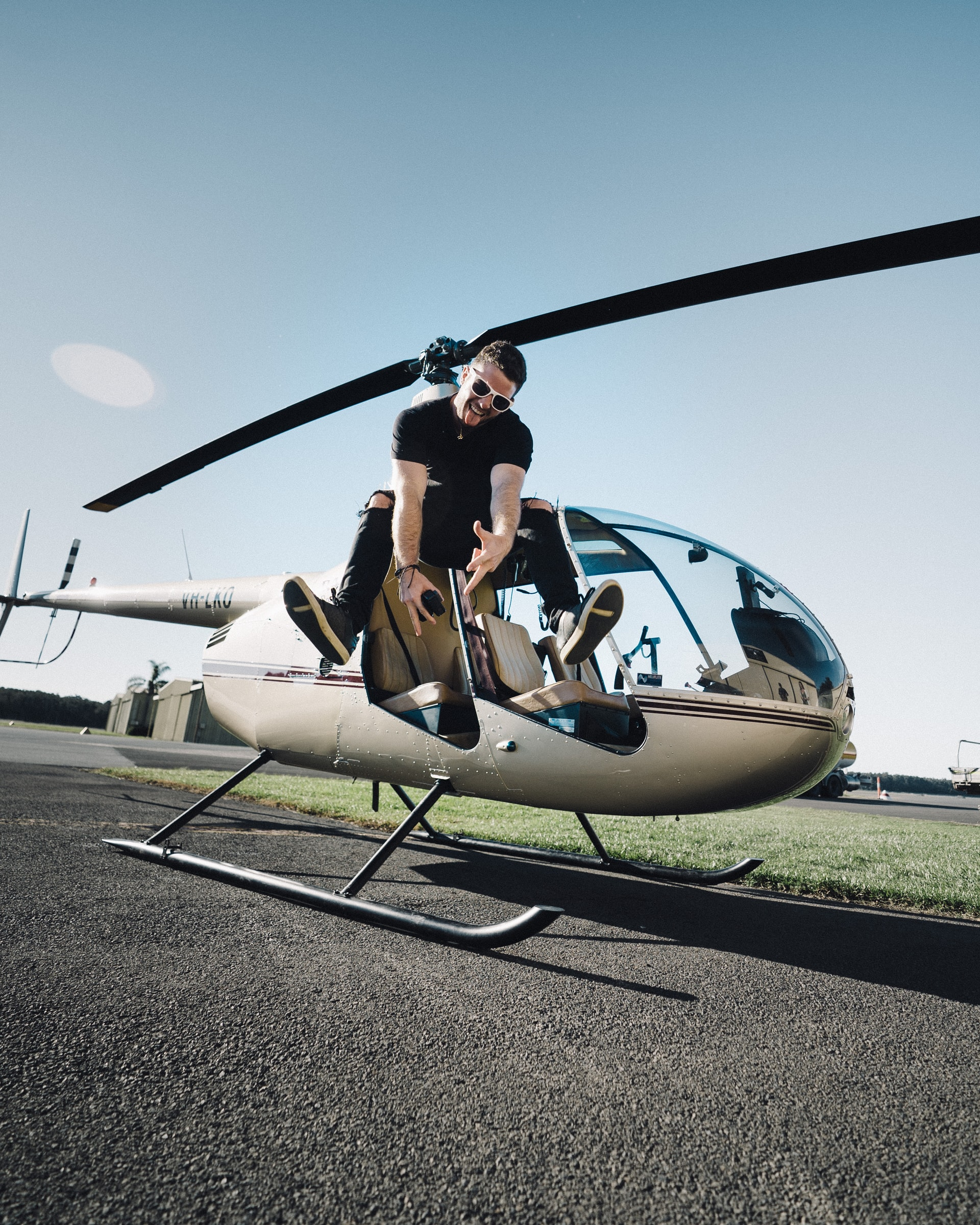 Aircraft owner happy after getting aviation finance approved for helicopter
